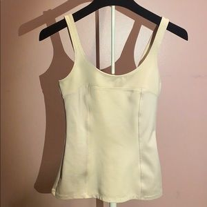 H & M h&m and Corset Like Pink Nude Tank Top Tight